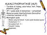 alkali phophatase alp