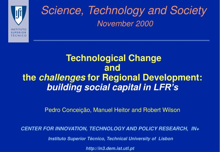 science technology and society november 2000 n.