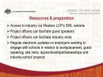 resources preparation2
