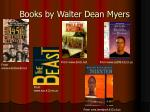 books by walter dean myers