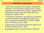 definitions governance