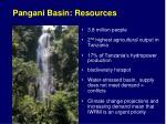 pangani basin resources