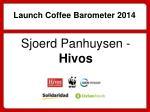 launch coffee barometer 2014