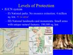 levels of protection2