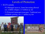 levels of protection3