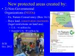 new protected areas created by1