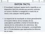 raton tactil