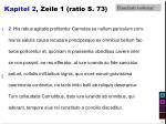 kapitel 2 zeile 1 ratio s 73