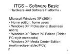 itgs software basic29