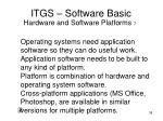 itgs software basic35
