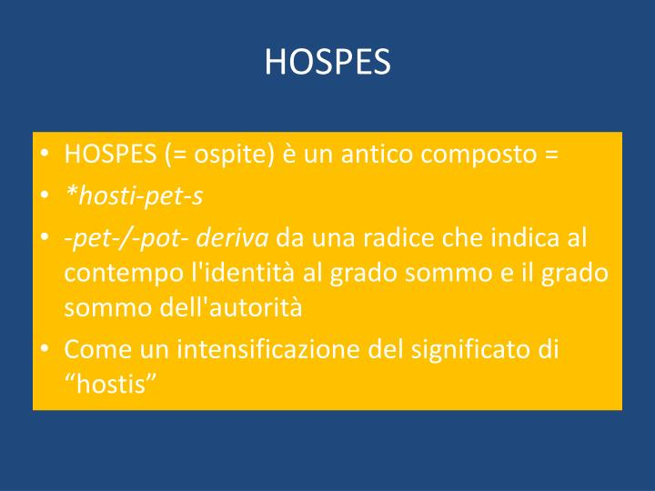 Hospes