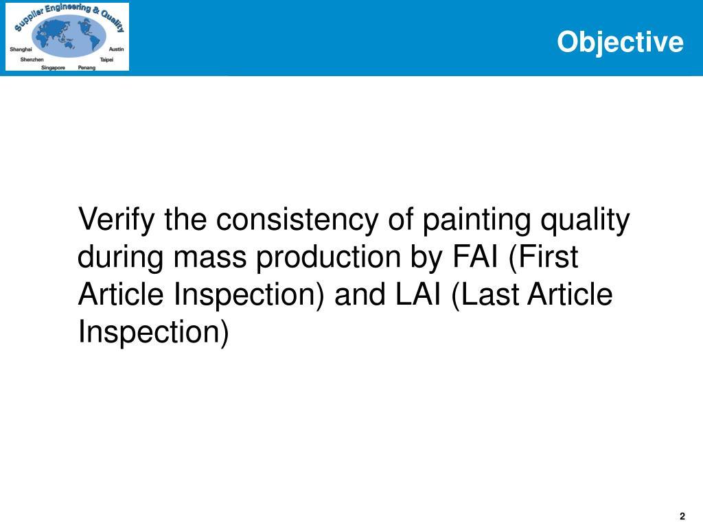 PPT - Painting FAI / LAI Inspection 9/29/06 rev 2 PowerPoint