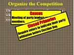organize the competition3