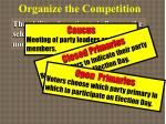 organize the competition4