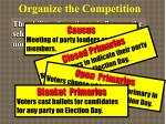 organize the competition5
