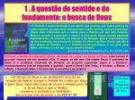 1 a quest o do sentido e do fundamento a busca de deus3