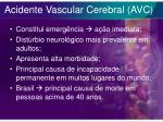 acidente vascular cerebral avc