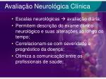 avalia o neurol gica cl nica