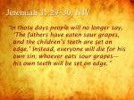 jeremiah 31 29 30 niv
