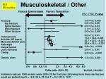 musculoskeletal other