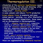 thermoregulation iii