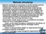 metode simulacije
