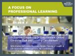 a focus on professional learning