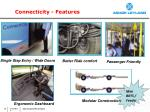 connecticity features
