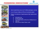 pioneering innovations