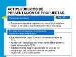 actos p blicos de presentaci n de propuestas1