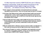 10 most important results of enpi fleg first year in belarus