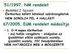 51 1997 nm rendelet