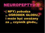 neuropeptyd y