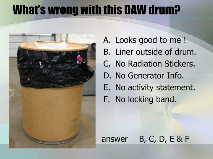 What's wrong with this DAW drum?