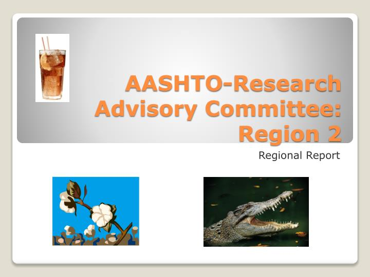 aashto research advisory committee region 2 n.