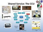 shared service the ccu1