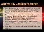gamma ray container scanner1