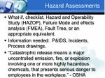 hazard assessments1