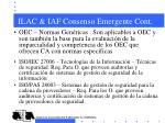 ilac iaf consenso emergente cont4