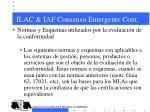 ilac iaf consenso emergente cont5