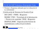 ilac iaf consenso emergente cont7