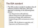 the esa standard1