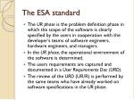 the esa standard2