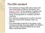 the esa standard4