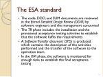 the esa standard6