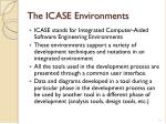 the icase environments