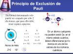 principio de exclusi n de pauli