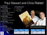 paul stewart and chris riddell
