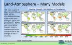 land atmosphere many models
