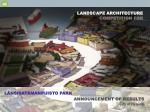 landscape architecture competition for